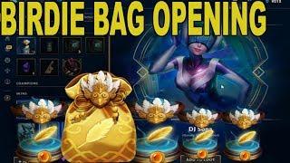 BIRDIE BAG! Birdie capsule opening crazy loot!