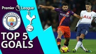 Man City v. Tottenham: Top five Premier League goals | NBC Sports