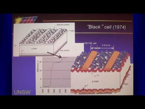 UNSW SPREE 201305-02 Martin Green - Evolution of High Efficiency Silicon Solar Cell Design 2