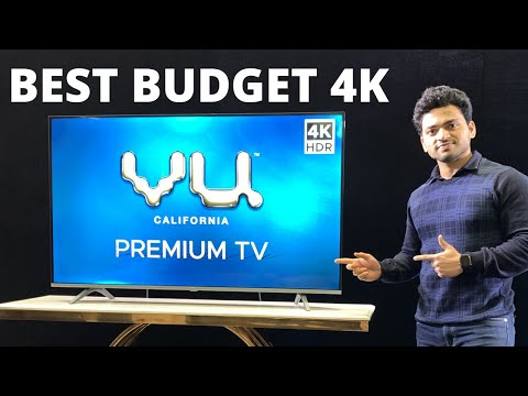 VU 4K Premium 55 Inch Android TV Unboxing & First Impressions |  VU TV 2020 | In Hindi