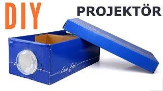 Evde 3 TL'ye Projeksiyon Cihazı Yapımı / Kendin Yap