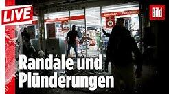 🔴 19 verletzte Beamte und 24 Festnahmen: Das sind die Täter von Stuttgart | BILD Live