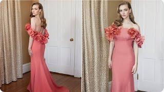 Amanda Seyfried Dress For Golden Globe Awards 2021