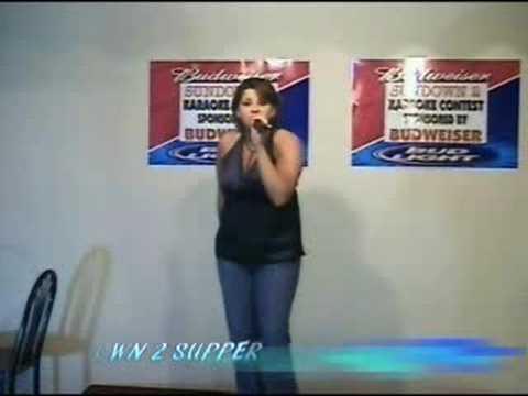 Kelly Batts sings Redneck Woman by Gretchen Wilson