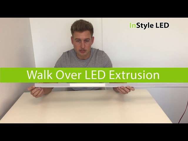 Walkover LED extrusion