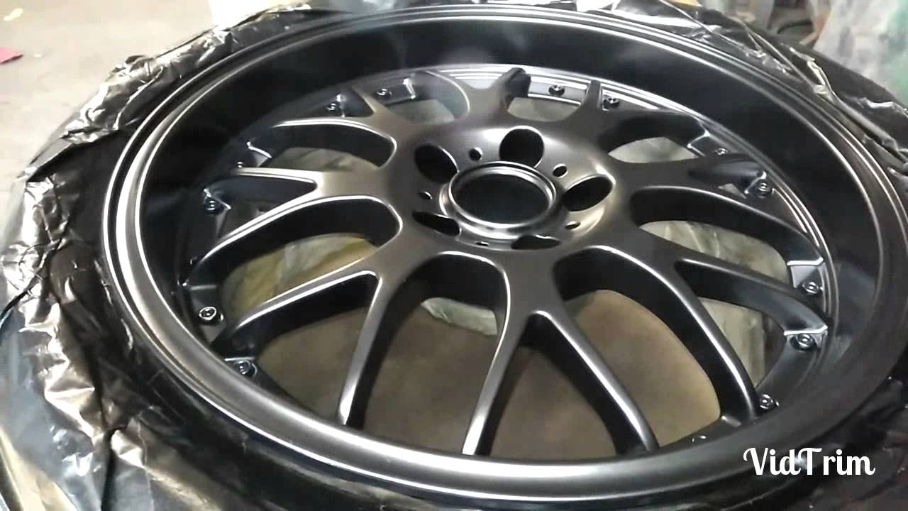 Paint Aluminum Car Wheels