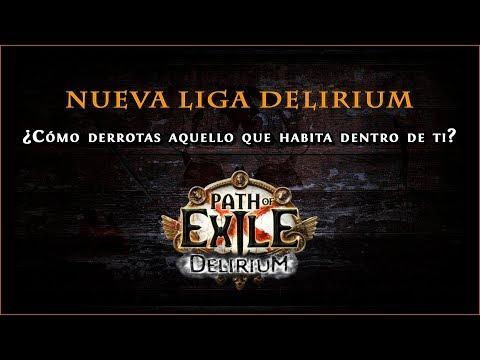 Path Of Exile 3.10 - Liga Delirium || Tráiler Y Explicación De La Mecánica De La Liga [26/02/2020]