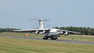 RIAT Monday departures more than 100 Airplane´s departure at RAF Fairford RIAT 2017 Air Show