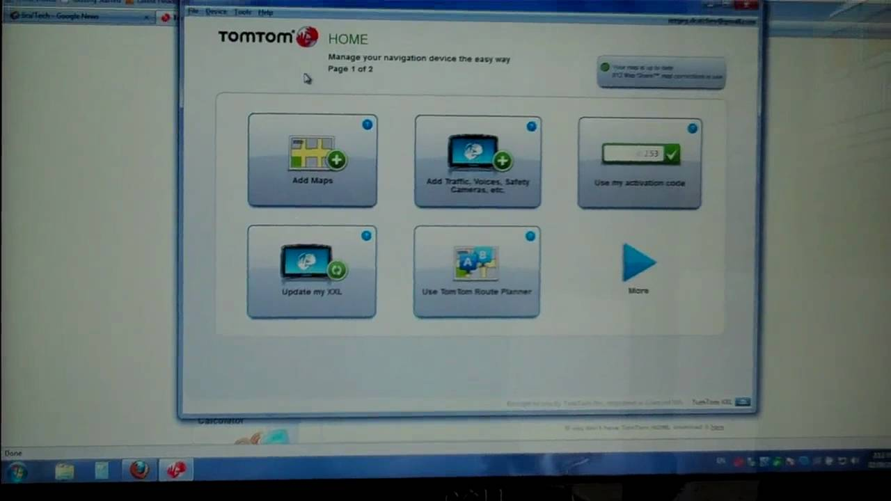 Tom Tom XXL 540 TM: Part 3 (desktop) - YouTube