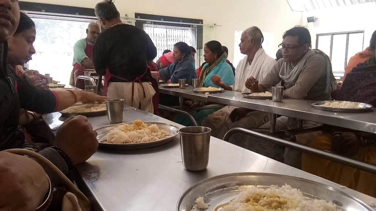 Mayapur Iskcon temple inside Lunch (rono)