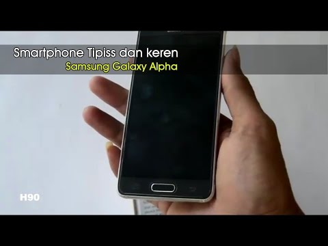 Hp Tipiissss.. !!! Simple Unbox n Rivew Samsung Galaxy Alpha | Indonesia