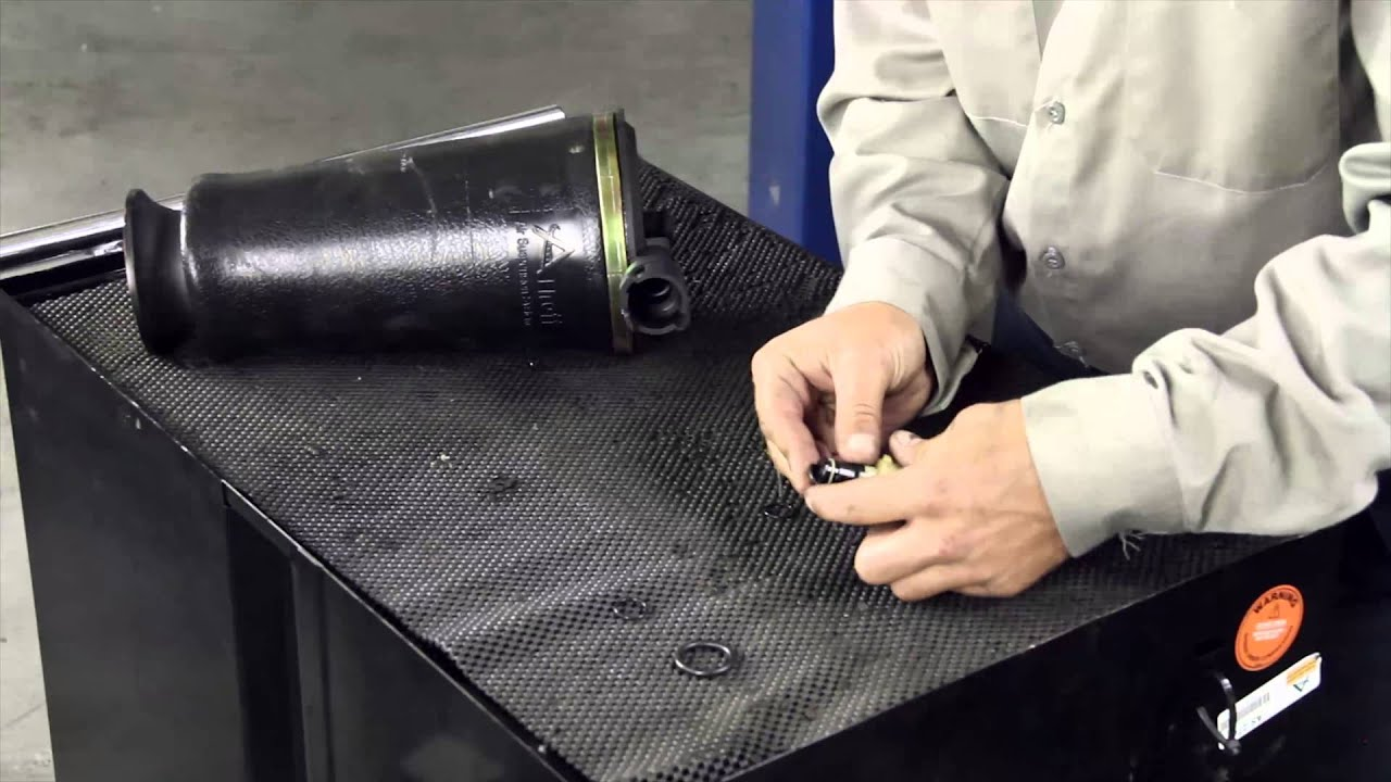 Replacing Your Leaking Lincoln Town Car Rear Air Spring