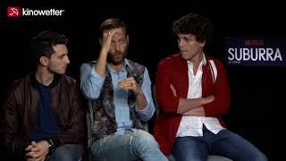 Interview Eduardo Valdarnini, Alessandro Borghi, Giacomo Ferrara SUBURRA: LA SERIE