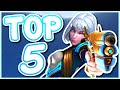 Overwatch - THE TOP 5 BEST ALL STARS SKINS