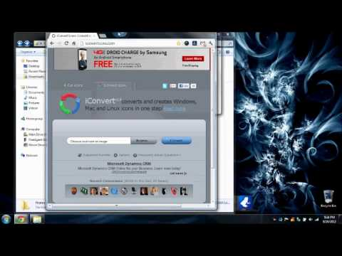 how to change windows 7 folder icons