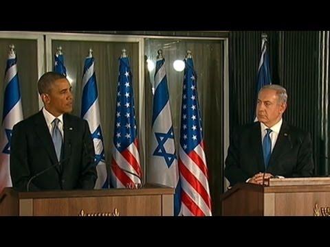 President Obama Makes 1st Presidential Trip To Israel