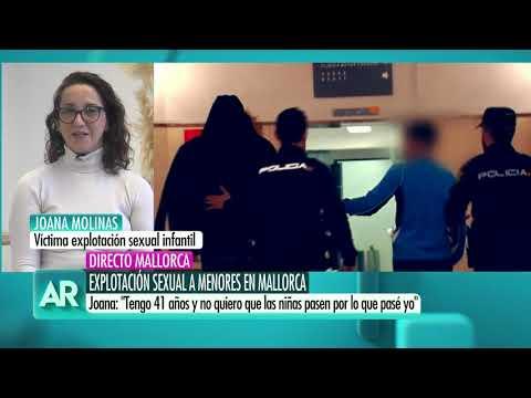Explotación sexual de menores tutelados en Mallorca.Entrevista a víctima superviviente.