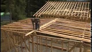 видео Сборка крыши