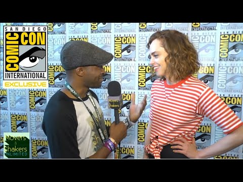 2018 SDCC EXCLUSIVE: Fiona Dourif Talks THE PURGE TV Series & Gives Update On CHILD'S PLAY Franchise