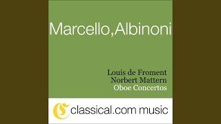Oboe Concerto in E flat - Maestoso e deciso Larghetto cantabile