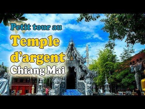 Visiter la Thaïlande : petit tour au Temple d'Argent de Chiang Mai