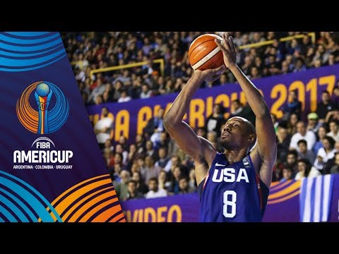 HIGHLIGHTS: USA vs. Uruguay (VIDEO) FIBA AmeriCup 2017