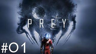 Prey - Gameplay ITA - Walkthrough #01 - Primo giorno di lavoro - Il test alla TranStar