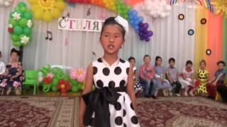 """Супер выпускной в дет. саду"""" Нур Бешик"""" Кара Балта Кыргызстан"""