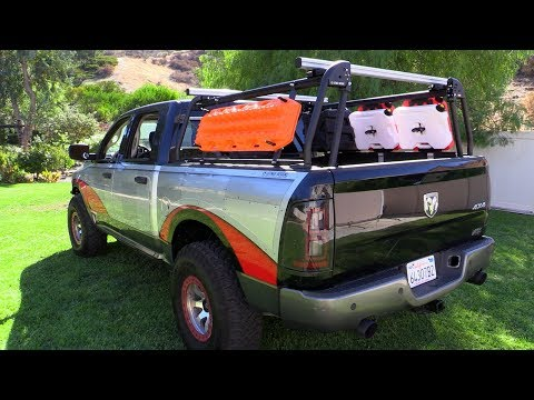 Active Cargo System Truck Bed Rack and Accessories Install - Ready for Adventure!