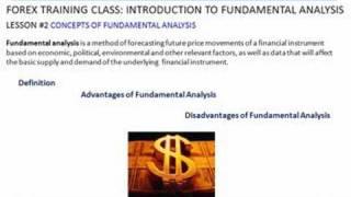 Forex Trading |Class #5 Fundamental Analysis| FXReturn.com