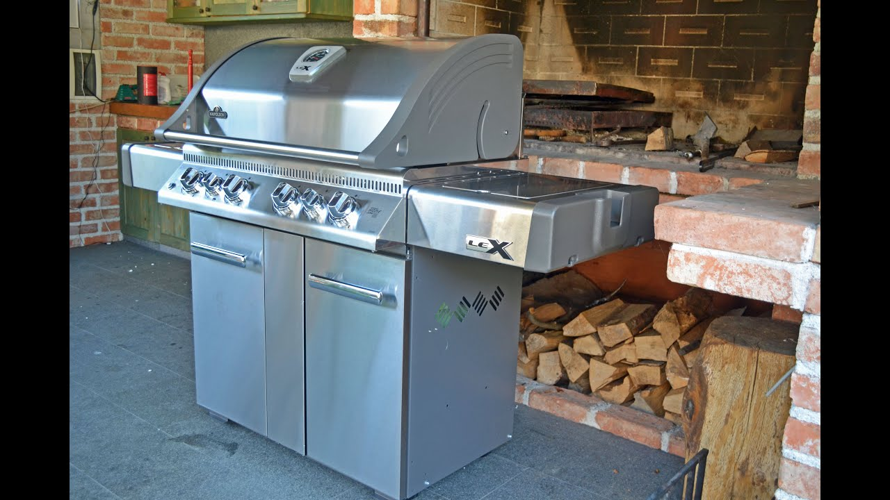 Napoleon Holzkohlegrill Pro 605 : Napoleon lex gas grill video review by customgrills youtube
