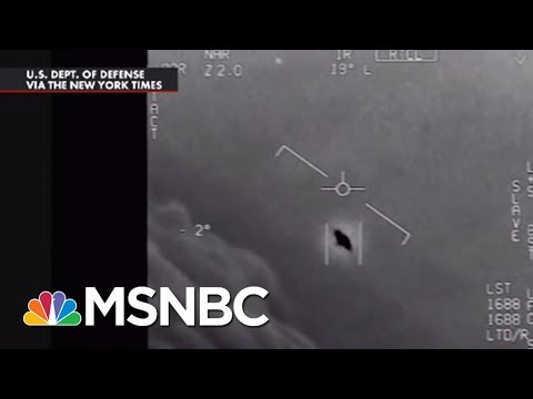 Pentagon Confirms They've Been Investigating UFOs, Releases Video | All In | MSNBC