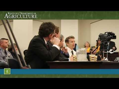 U.S. Senator Rand Paul speaks on Senate Bill 50