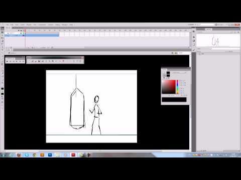 Урок. Создание по кадровой анимации во Flash