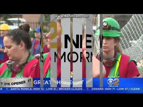 KCBS CBS 2 News this Morning at 5am open October 19, 2017