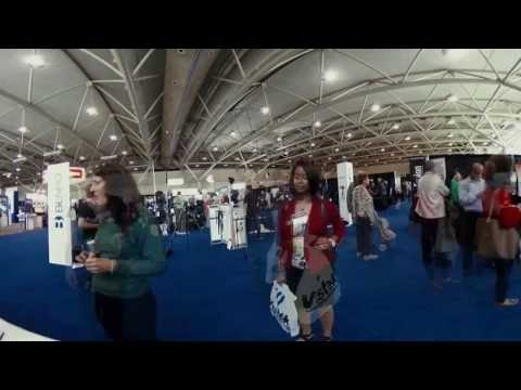 VRTO& FIVARS ProFusion 2016 Booth - 360 Spherical Timelapse Video