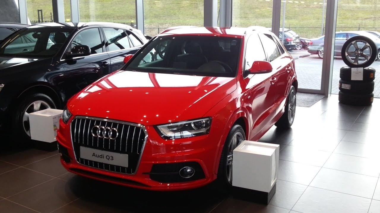 Audi Q3 S Line 2014 In depth review Interior Exterior - YouTube