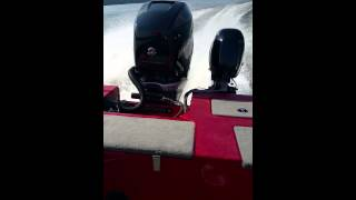 Mercury Verado 350 HP Yar-Craft 219 TFX Prop Test