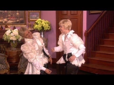Web Exclusive: Ellen Gets Slap-Happy