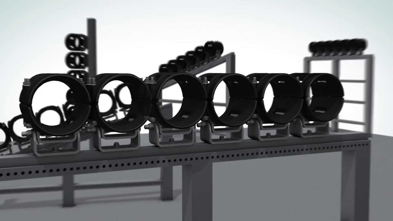 Ellis Patents Cable Guide Clamp For High Voltage Hv