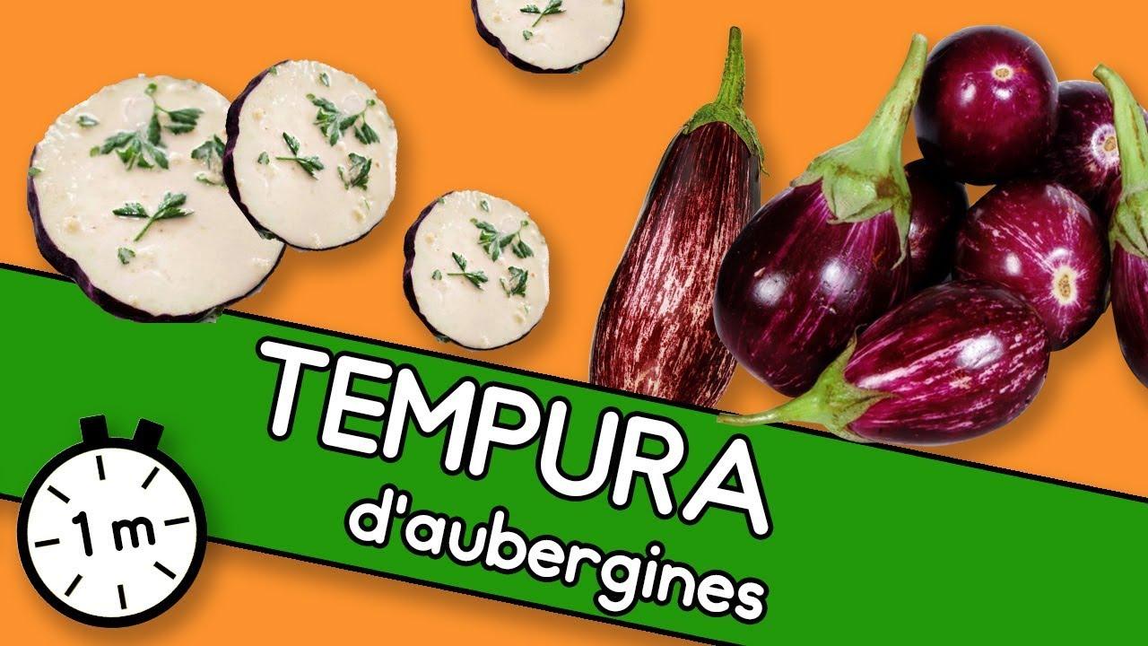 Tempura d'aubergines - Astuce YouCook