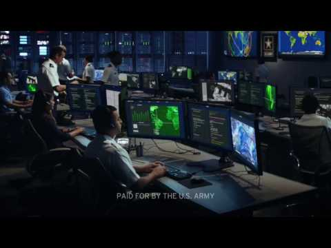 GO ARMY CYBER! Army Cyber National Recruiting Ad