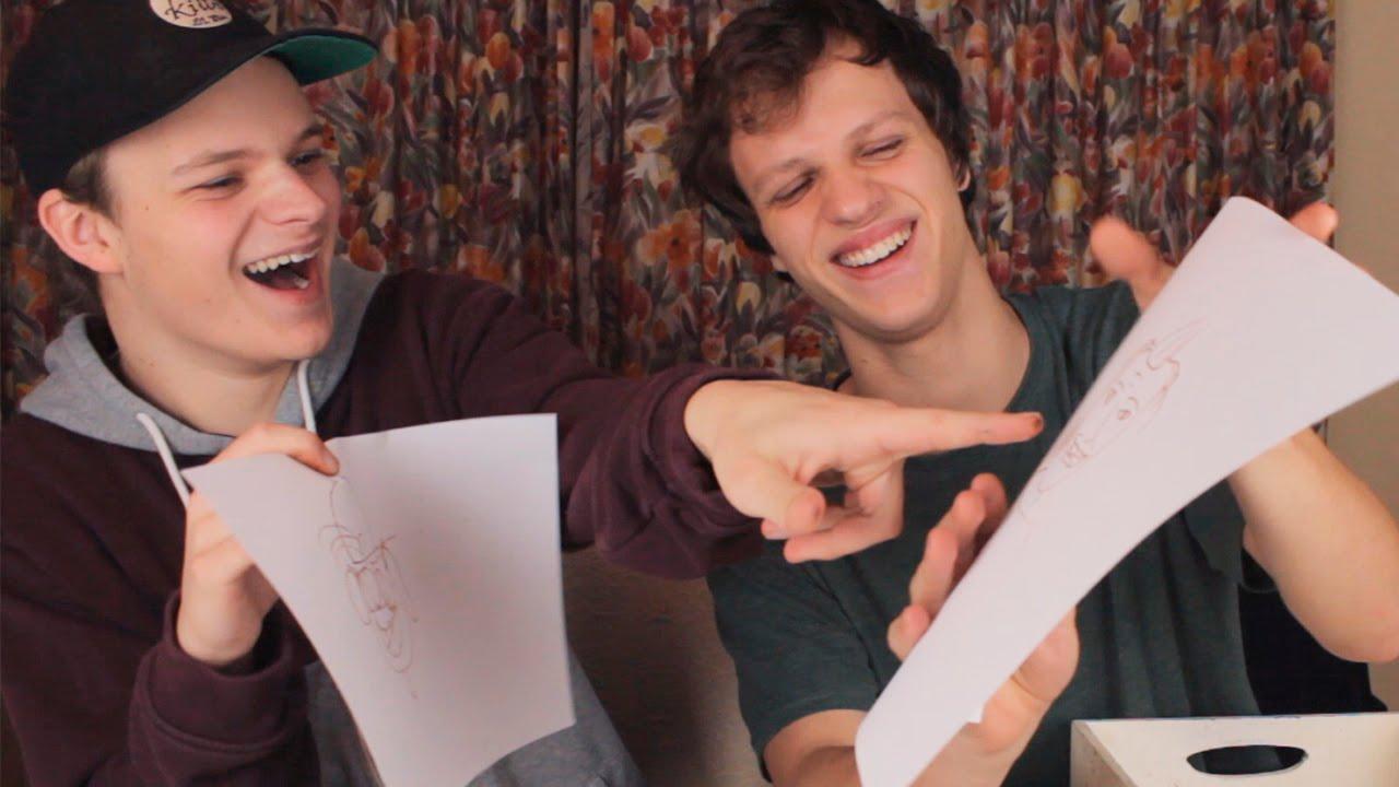 Tegner Youtubere på 30 sekunder!