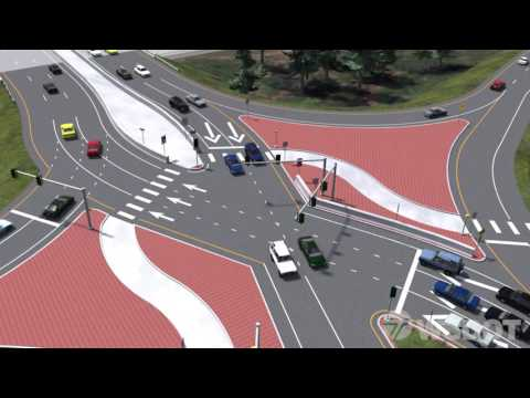 Diverging Diamond Interchange comes to Washington State