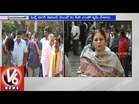 Tollywood celebrities pays tribute to VB Rajendra Prasad 13012015