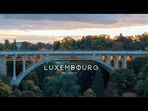 LUXEMBOURG A Timelapse & Hyperlapse - 4K