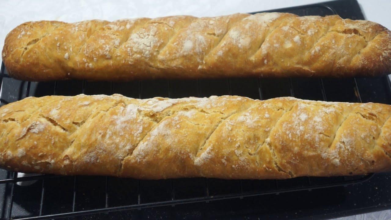 ФРАНЦУЗСКИЙ БАГЕТ. Вкусный домашний хлеб.
