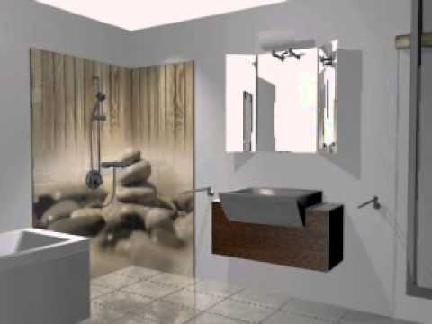 pose de panneaux douche youtube. Black Bedroom Furniture Sets. Home Design Ideas