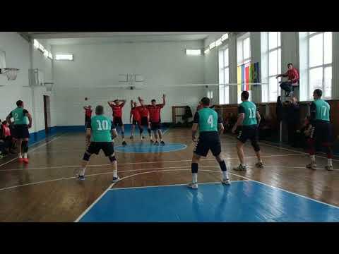 Волейбол Лугини - Ємільчине (2:1) в Олевську 16.03.2019