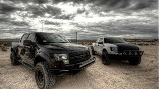 Ford Raptor, Saints Offroad day at Barstow.